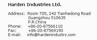 Contact info for buying screws and barrels