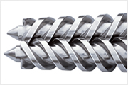 Conical Twin-screw