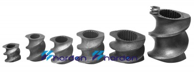 Extrusion screw element